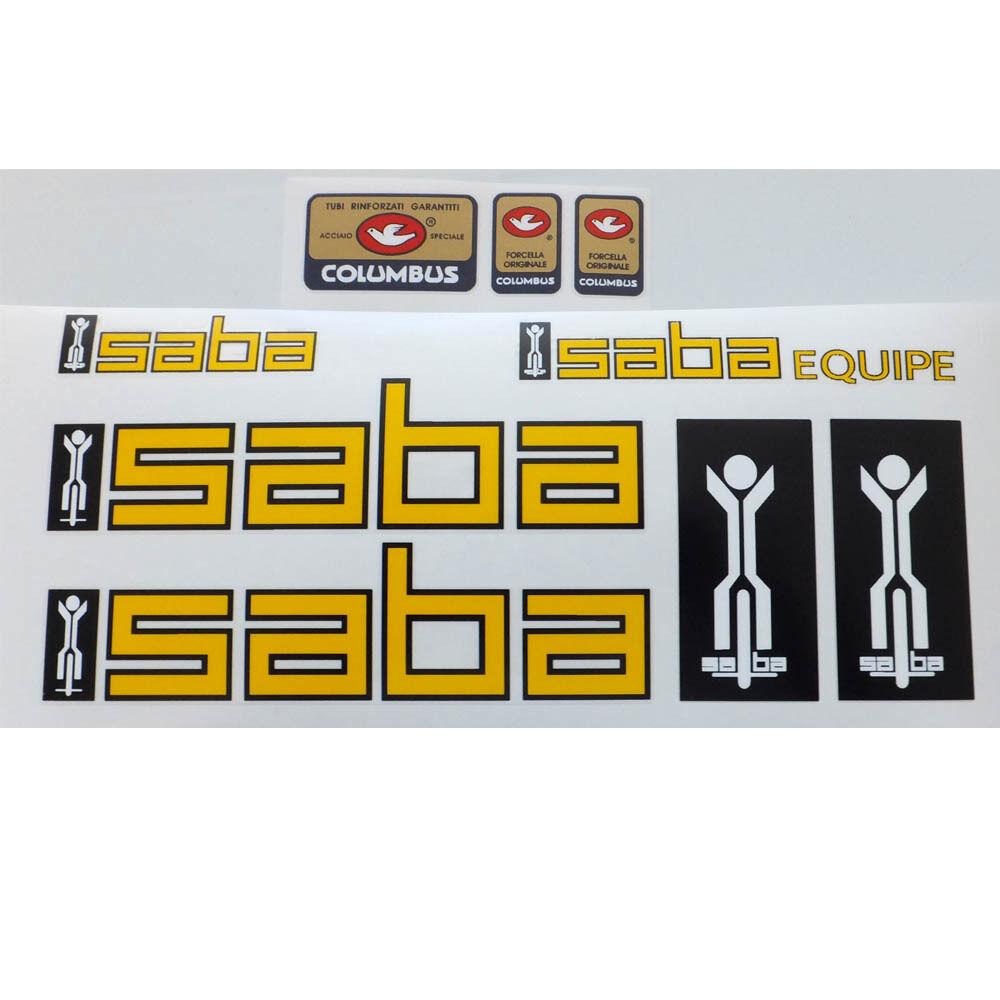 Saba set  of decals vintage  more affordable