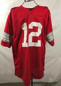 huge selection of 7085c a9275 Details about CARDALE JONES autographed signed Ohio State Buckeyes red  Jersey COA Global