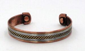 Magnetisch Kupfer Armband für Herren /& Damen Arthritisschmerzen Rheuma Heilung