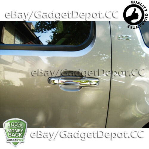 For 2007-2012 2013 Chevrolet Silverado 2500//3500 Chrome Door Handle Cover 2DR