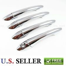 Triple Chrome Plated Door Handle Trim Covers for 2011-2014 Hyundai Sonata SE GLS