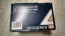 New Quantaray 70-210mm f4-5.6 Sequence Lens for Minolta 25-166-2532