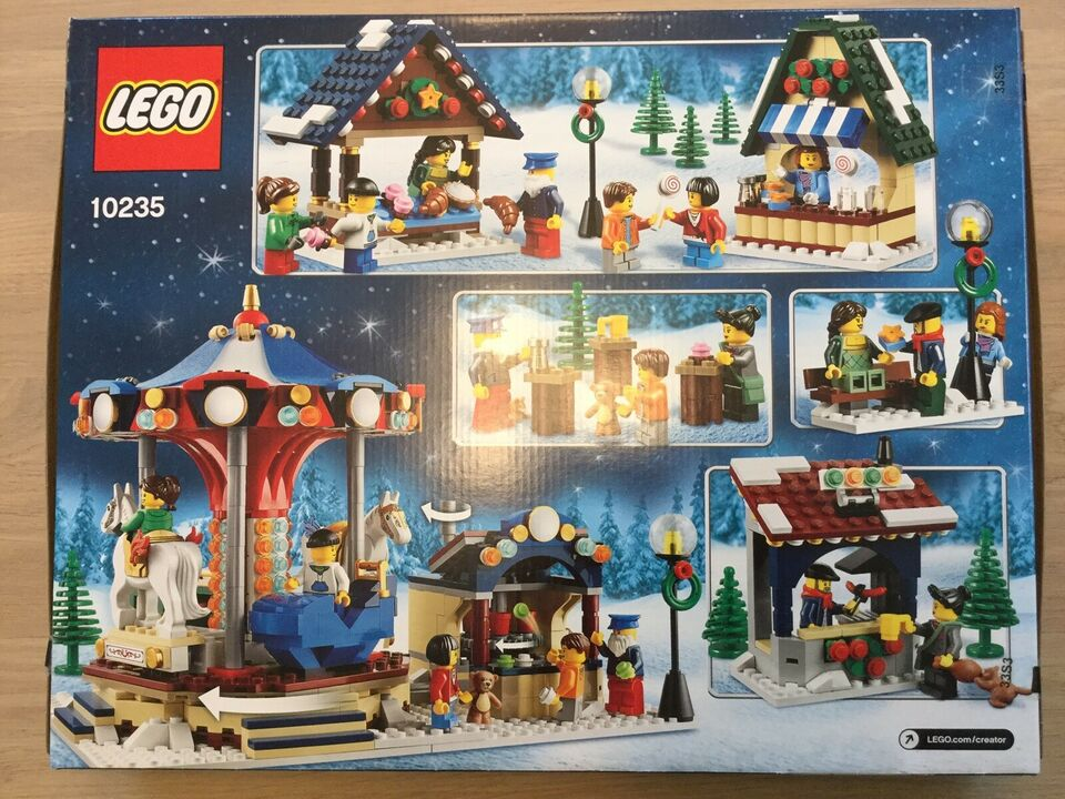 Lego andet, 10235 vinterby/winter village