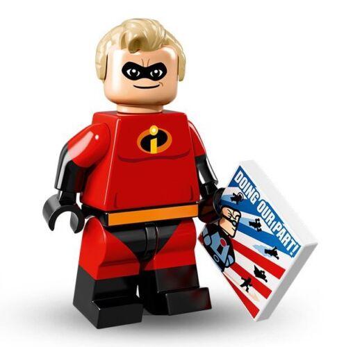 NEW Lego Disney Minifigure Mr Incredible 71012 Series Red #13 of 18 Mini Figure