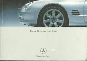 MERCEDES-SL-Instructioni-d-uso-2001-uso-e-manutenzione-230-BA