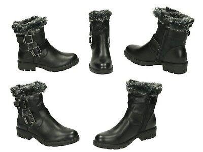 schuhe damen stiefeletten boots stiefelette gefüttert warm winterschuhe neu