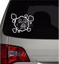 "Vinyl Decal Sticker. Car, Window, Wall... Pokemon 109 Koffing (6"" x 7"")"