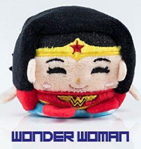 """DC Comics  Wish Factory Kawaii Cubes Series 1 Cat Woman 2/"""" Plush Figure"""