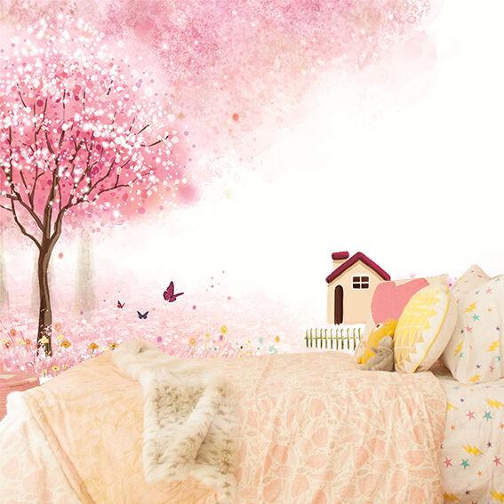 3D Sakura Welt 24 Fototapeten Wandbild Fototapete Bild Tapete Familie Kinder