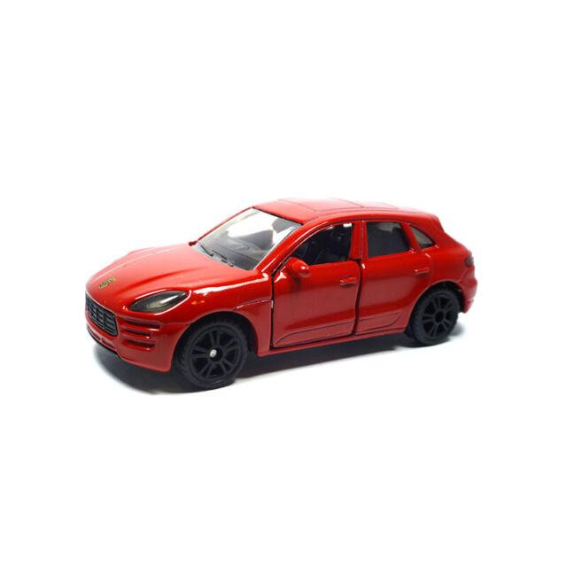 Siku 1452 Porsche Macan Turbo Rojo Oscuro Escala 1:55 (Blister) Nuevo! °