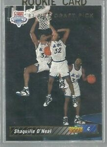 1992-93-Upper-Deck-1-Shaquille-O-039-Neal-SP-RC-NBA-First-Draft-Pick-ref45300