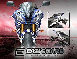 Eazi-guard™ Yamaha Yzf-r6 2008-2016 Moto Protection Contre Les Pierres Et Éclats Nourrir Les Reins Soulager Le Rhumatisme
