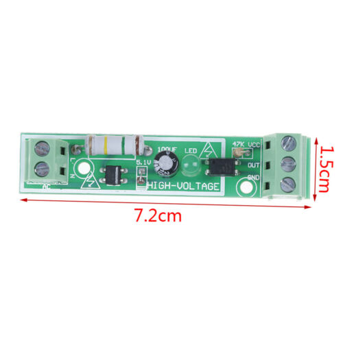 1 Channel AC 220V optocoupler isolation module high voltage opto isolator G4