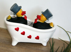 Geldgeschenk-Hochzeitsgeschenk-Geschenke-Schwule-Maenner-Enten-Paar-Mr-amp-Mr-Mann