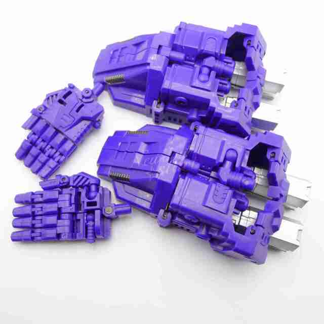 Simple Version PERFECT COMBINER UPGRADE SET Revised Ver For  CW BRUTICUS Blue