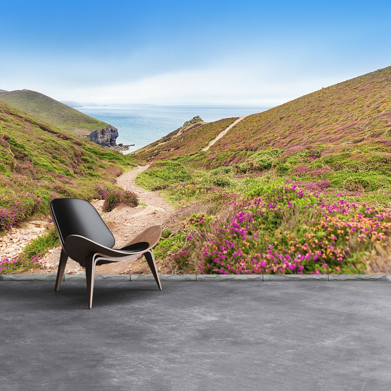 Fototapete Selbstklebend Einfach ablösbar Mehrfach klebbar Atlantik Cornwall