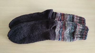2019 Neuer Stil Neu Handgestrickte Weiche Socken In Größe 36 Moderate Kosten