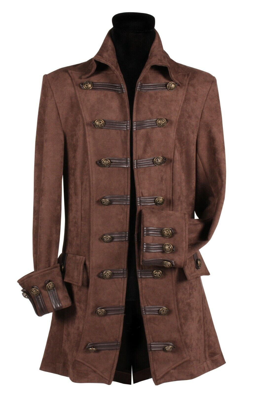 Pirate Jacket , Deluxe , Lord Lancaster S - XXXL