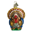 Old-World-Christmas-TOM-TURKEY-16015-N-Glass-Ornament-w-OWC-Box thumbnail 1