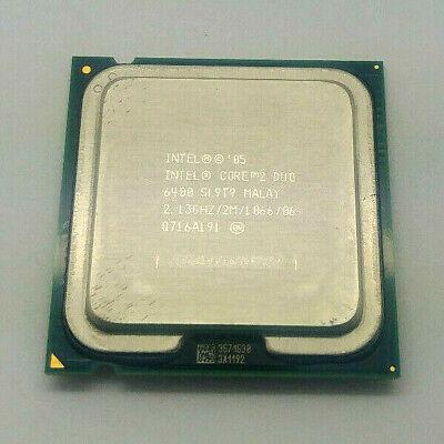 Intel Core 2 Duo 6400 SL9T9 2.13GHz 2M Cache 1066MHz LGA775 CPU Processor