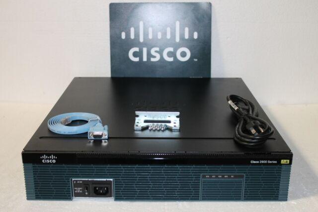 Cisco C2951-VSEC/K9 Cisco 2951 Voz Seg. Lote Router con PVDM3-32