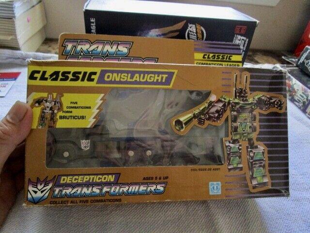 1990 UK Transformers scellé dans bulle Decepticon  Onslaught inutilisées Comme neuf in box box  il y a plus de marques de produits de haute qualité