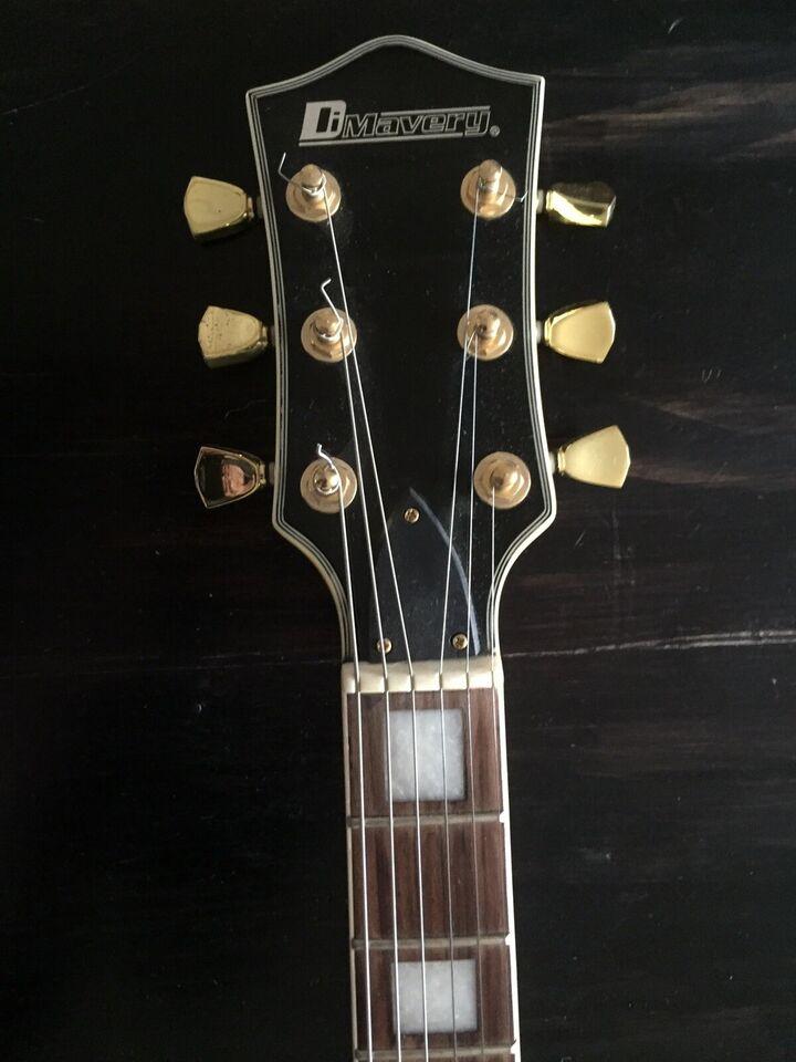 Elguitar, andet mærke Dimavery LP-700