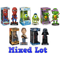 Funko Wacky Wobblers - Bulk Mixed Lot Of 5 (all Different)(6 Inch) -