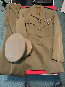 WW2-Canadian-Medical-Officers-Uniform-Complete-NAMED