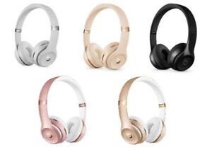 Beats By Dr Dre Solo 3 Wireless On Ear Headphones Pick Your Color Ebay