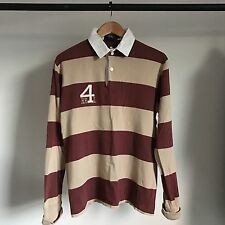DOUBLE RL PULLOVER RUGBY SHIRT VINTAGE FREEDOM POLO SPORT SWEATSHIRT RRL M