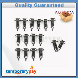 16X Tailgate Cap Top Protector Molding Retainers Clips for Toyota Tundra 2007-18