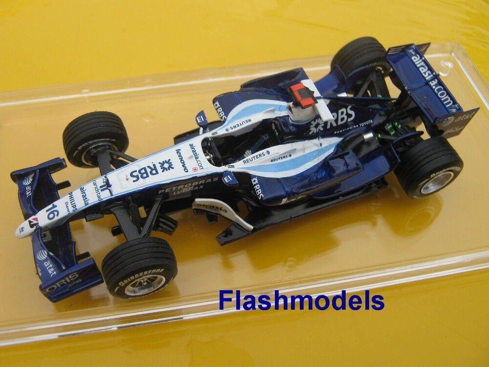 1 43 Williams giocattoloota fw29 2007 n. ROSBERG Tameo hebuilt modelloauto in mostrarecase