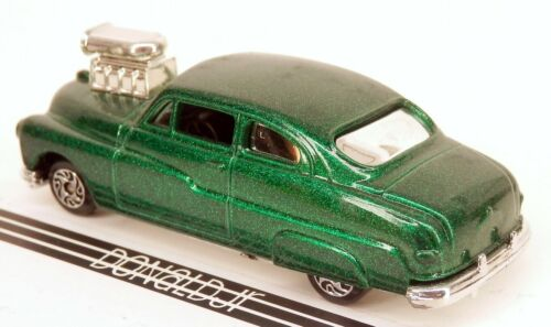 Details about  /Racing Champions 1949 Mercury Coupe Green /'49 Hot Rod 1//64 Scale Street Wheels