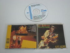STEVIE RAY VAUGHAN AND DOUBLE TROUBLE/LIVE ALIVE(EPIC EPC 466839 2) CD ALBUM