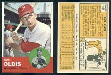 1963 Topps Bob Oldis #404 Baseball Card