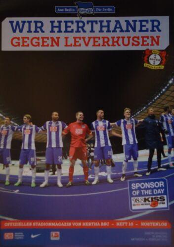 Bayer Leverkusen Stadionmagazin 2014//15 Hertha BSC Berlin