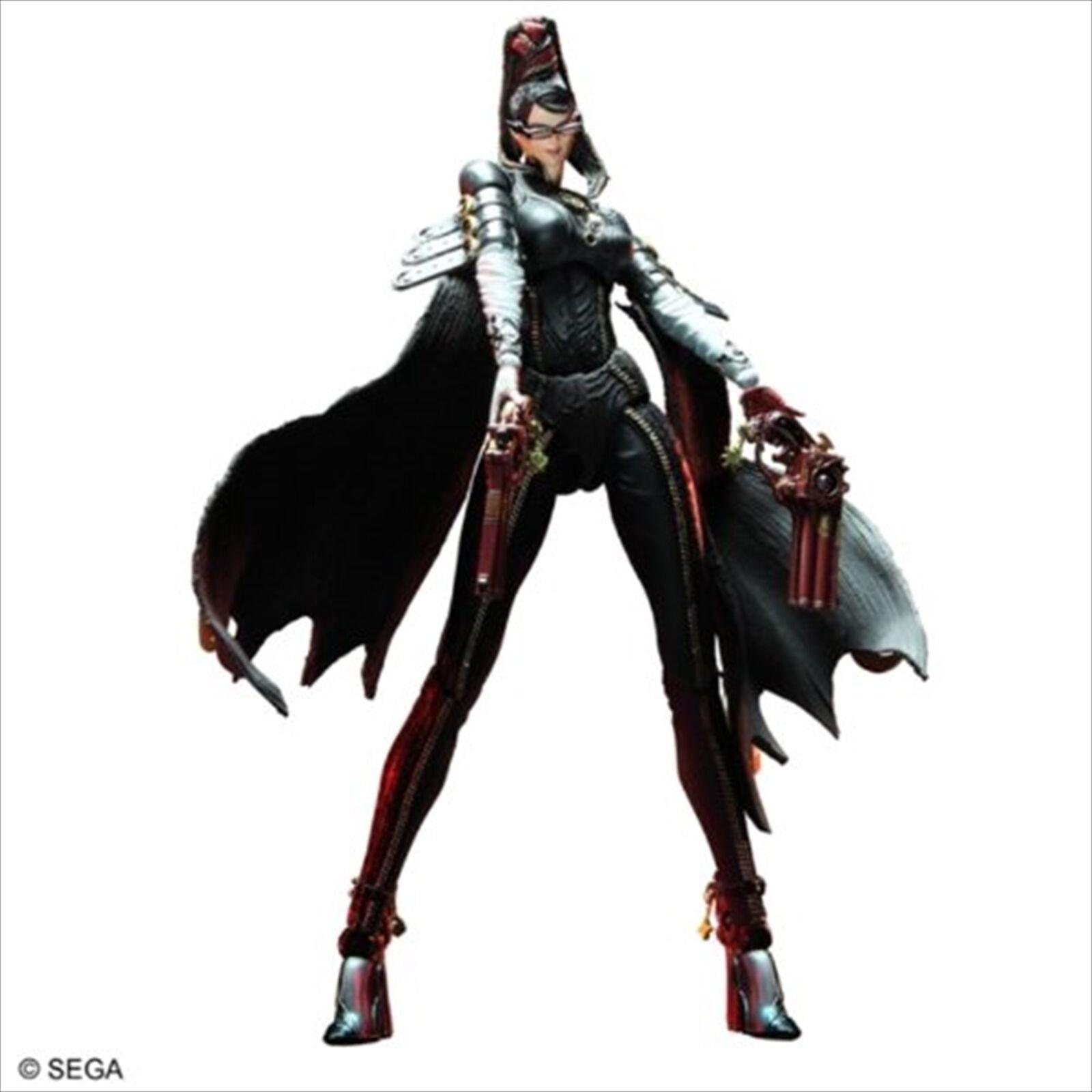 Square Enix BAYONETTA PLAY ARTS ARTS ARTS Kai Bayonetta PVC Action Figure 202336