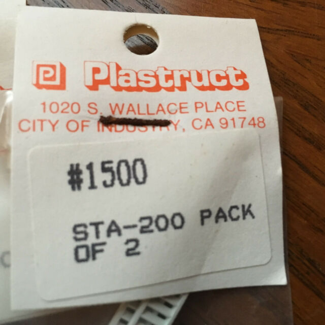 PLASTRUCT 1500 Stair  2pcs  N Scale  STA-200  New Ships Free