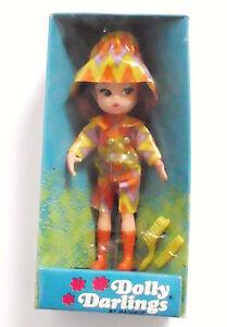 NIB-Rare-NRFB-Vintage-1967-034-SLICK-SET-034-Dolly-Darlings-DOLL-Hasbro-MOD-OUTFIT