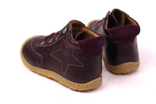 Ricosta Pepino Sami Kinder Lauflernschuhe Gr 21 23 Leder Merlot Sneaker WMS M