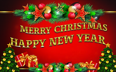 Merry Christmas Ornament Sign.Merry Christmas Happy New Year Vinyl Banner Holiday Party Decor Outdoor Sign Ebay
