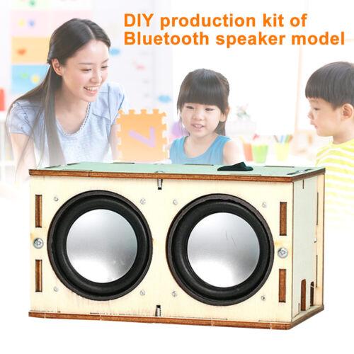 STEM Learning Handmade DIY Bluetooth Speaker Box Kit Electronic Sound Amplifier
