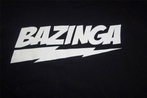 Bazinga Big Bang Theory TShirt Size Large Gilban -