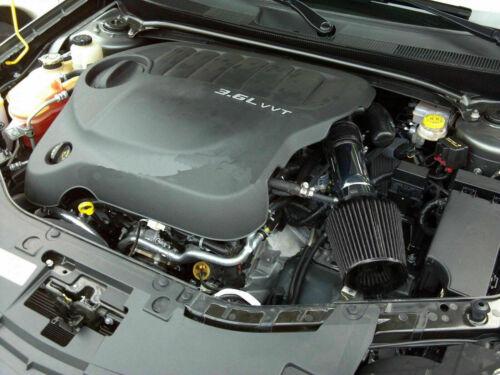 Black For 2011-2015 Dodge Journey Avenger 3.6L V6 Air Intake Kit Filter
