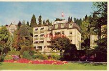 HOTEL BEAU SEJOUR au LAC, LUCERNE SWITZERLAND Propr. E. Stoll-Vaucher