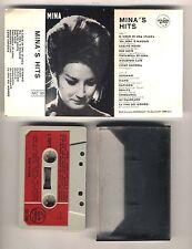 Mc MINA Mina's Hits - Italdisc Musicassetta Prima edizione