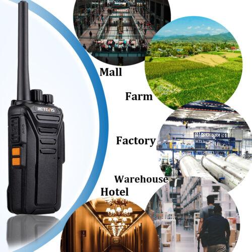 Retevis RT27 Walkie Talkie MURS VHF License-Free 5CH Handheld Two-Way Radio VOX