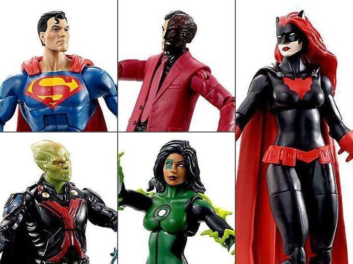 Dc Comics Multiverse Mattel Action Figure Wave 8 Superheroes