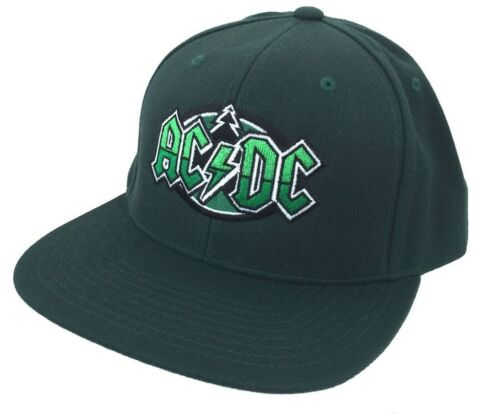 Official AC//DC-Saint-Paul Tree événement concert-vert Réglable Casquette De Baseball